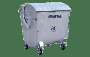 Metal Çöp Konteyneri